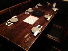 【1階のテーブル席】
