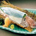 料理メニュー写真ヤリイカ活造り(天然物により入荷がない場合がございます。)