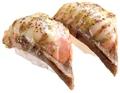 料理メニュー写真えびバジルマヨ炙り/サーモンバジルマヨ炙り