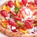 料理メニュー写真旬のフルーツPizza