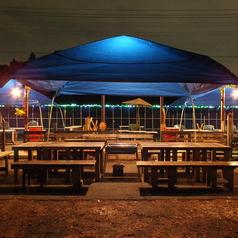 【夜】テントが大きくなりました!