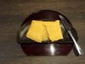 料理メニュー写真とろける卵焼き