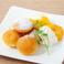 料理メニュー写真マンゴー香るたっぷりホイップのプチパンケーキ