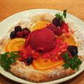 料理メニュー写真4種ベリーとオレンジコンフィ