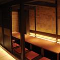10名様個室◆ひろびろと使える完全個室。飲み会や各種ご宴会にご好評いただいております。その日仕入れた鮮魚を取り入れた日替わりメニューなど、旬の味覚をご堪能ください。京橋駅から徒歩すぐの居酒屋をお探しなら、是非当店へ!