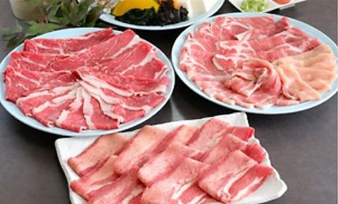 ≪ディナー≫牛タンしゃぶ・国産牛食べ放題《120分》肉7種・2980円(税込3278円)