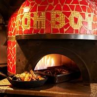 ◆都内でも数店…稀少な石窯ストーブ料理◆