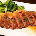 料理メニュー写真サーロインのローストビーフ