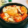 料理メニュー写真チーズ純豆腐チゲ