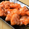 料理メニュー写真ホルモン (脂多め)