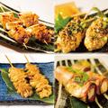 料理メニュー写真串の5種盛り合わせ♪