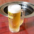 【焼肉酒家 てっしん】 お飲物も種類豊富にご用意!