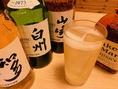 【ハイボール】山崎・白州を始め多数ご用意しています♪さっぱり美味しいお食事とお酒で素敵なひと時を♪