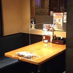 半個室風のテーブル席※禁煙のお席になります。