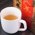 高麗人参茶を始め、健康に気遣った飲物も各種ご用意。