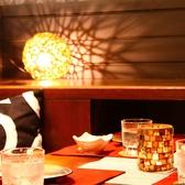 落ち着いた雰囲気の個室で大人デート