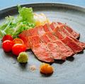 料理メニュー写真牛ハラミステーキ (150g)