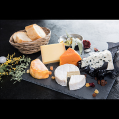 本日のチーズ盛り合わせ 4種