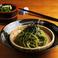 茶そば Green tea ''Soba''noodle