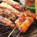 料理メニュー写真豚の串焼き 「ムー・サテー」 1本