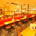 源ちゃん&グランドビアホフそれぞれ約150席ご用意!少人数はもちろん、大人数のご宴会やパーティにもご対応可能です。
