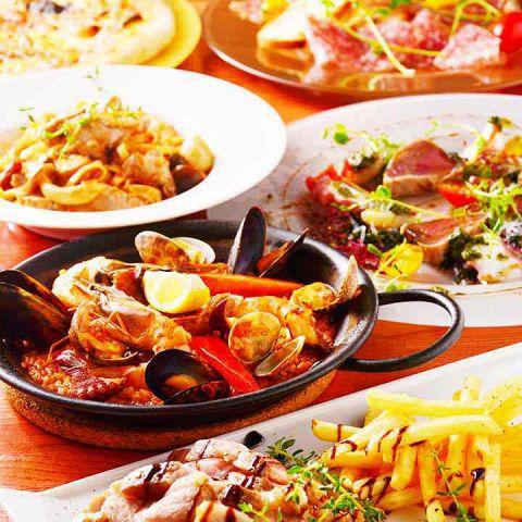 ゆったりご宴会を楽しんで頂く為に宴会コースは3時間飲み放題付でご案内◎季節の宴会など様々なご宴会に最適!ご宴会プランは3000円~ご用意!お客様のニーズに合わせて各種コース充実しています。新鮮魚介類や旬の素材をふんだんに使用したコースも!幹事様必見!誕生日、記念日、ご宴会に最適なクーポンも多数!