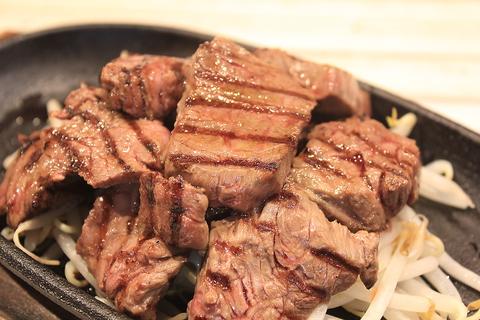 牛サガリの鉄板焼き、黒毛牛の鉄板焼き、イベリコ豚ハラミとお肉が人気です!