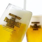 定番のビールからドリンクの種類も豊富に扱っております。