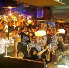 人数多っ!!皆で乾杯しちゃいますか!!※画像は系列店です。