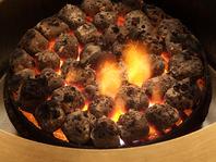 溶岩石で焼肉♪