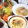 料理メニュー写真サンマルコセットA(ドリアのセット)&サンマルコセットB(グラタンのセット)