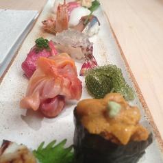 鮨あらきのおすすめ料理1