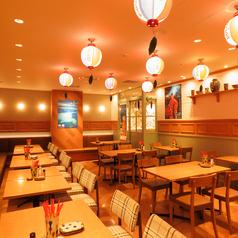 あぐー豚しゃぶと沖縄家庭料理 琉球市場 やちむんの雰囲気1