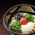 料理メニュー写真【温・冷】梅おろしぶっかけ (並/大)