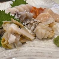 旬の海鮮も召し上がれるお酒のつまみや鮮魚☆