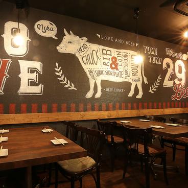 鉄板肉酒場 LOVE&29 京橋店の雰囲気1
