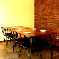広々テーブル席♪8名様用