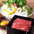 料理メニュー写真桜肉すき焼き<1人前>