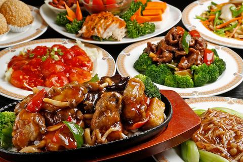 本格中華料理の食べ放題は1980円、宴会向けの食べ飲み放題は2960円~★