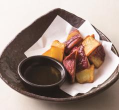 佐原農場産オーガニックさつま芋のフライ