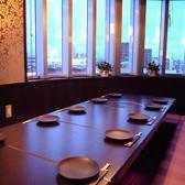 宴会場は、掘りごたつの個室席
