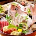 季節ごとに旬の鮮魚をご用意!店内の掲示されている【本日の旬魚】をご確認ください!