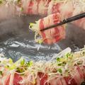 料理メニュー写真肉炊き鍋