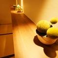 お部屋の所々に「緑」を。心を落ち着かせます。