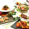 全ての食材は料理長・料理人が選んだ食材を使用します。すべての料理は調理師資格も持ち、熟練した料理人が真心こめて創ります!【静岡 新静岡 飲み放題 海鮮 刺身 個室 完全個室 しゃぶしゃぶ 焼き鳥 宴会 女子会 記念日 合コン】