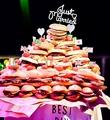 料理メニュー写真ハンバーガータワー