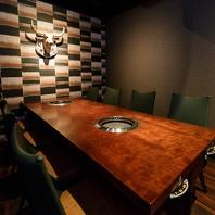 【北浜駅徒歩2分】おしゃれな空間が演出された完全個室