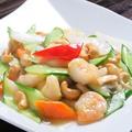 料理メニュー写真海鮮とアスパラ炒め