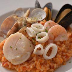 料理メニュー写真魚介のトマトリゾット