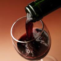 豊富なワインをセレクト